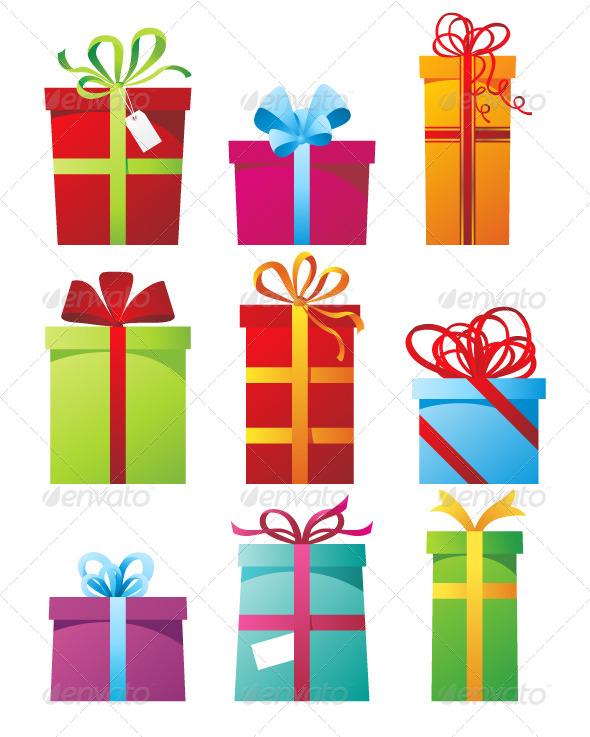 GraphicRiver Presents Boxes 5214102
