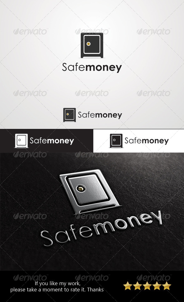 Safe Money Logo - Objects Logo Templates