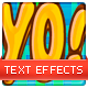 Comic Text Styles - GraphicRiver Item for Sale