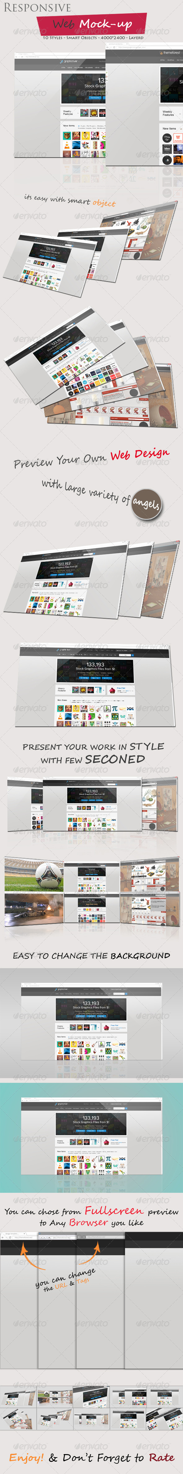 GraphicRiver Responsive Web Mock-up 5206131