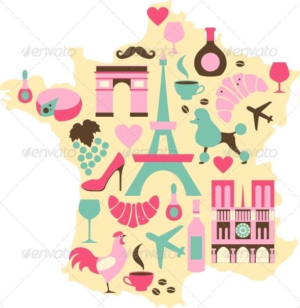 GraphicRiver France Symbols 5216869