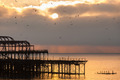 The West Pier at sunset - PhotoDune Item for Sale