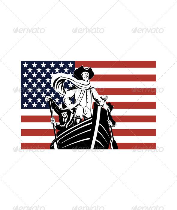 GraphicRiver American Revolutionary General Patriot 5217214