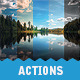 GEO - Premium Nature / Landscape Actions Set - GraphicRiver Item for Sale