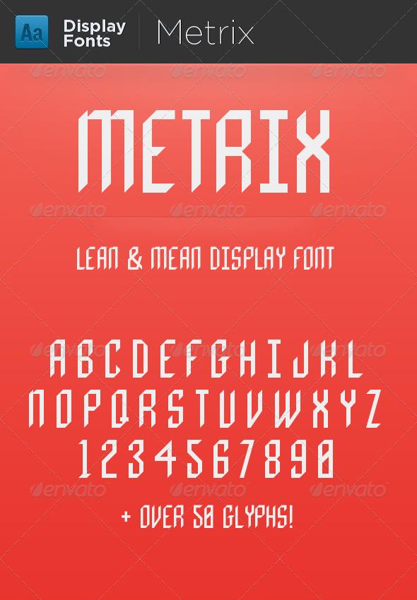 GraphicRiver Metrix 5217694
