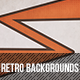 10 Retro geometric backgrounds - GraphicRiver Item for Sale