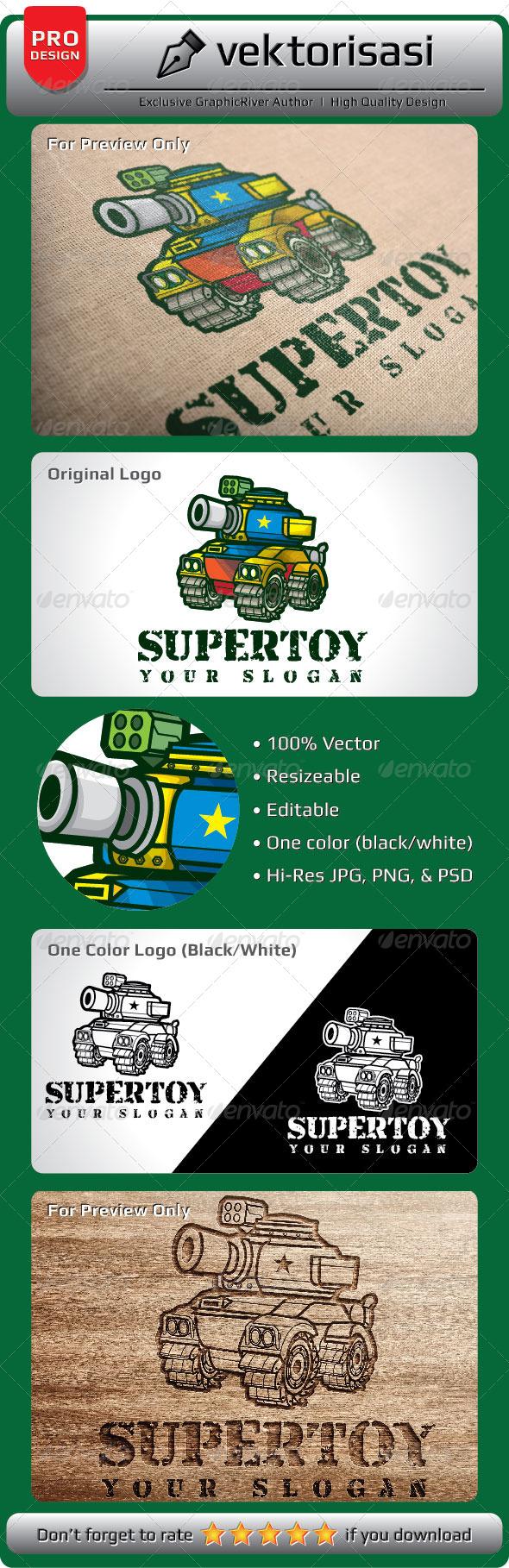 GraphicRiver Supertoy Logo 5208119