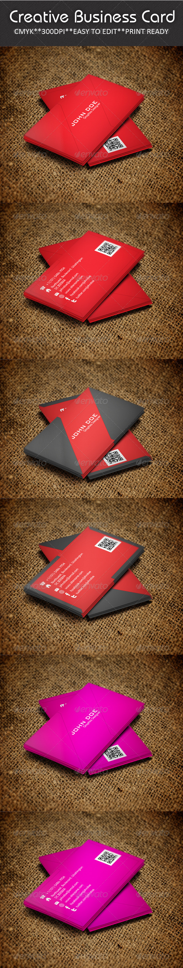 GraphicRiver Creative Business Card 5217752