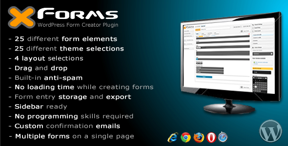 CodeCanyon X Forms wordpress form creator plugin 5214711