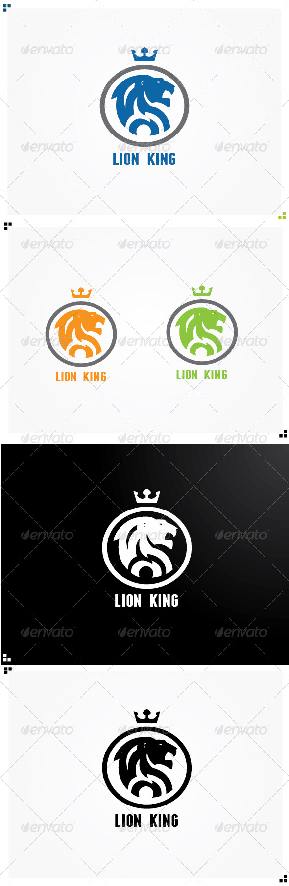 GraphicRiver Lion King 5218728