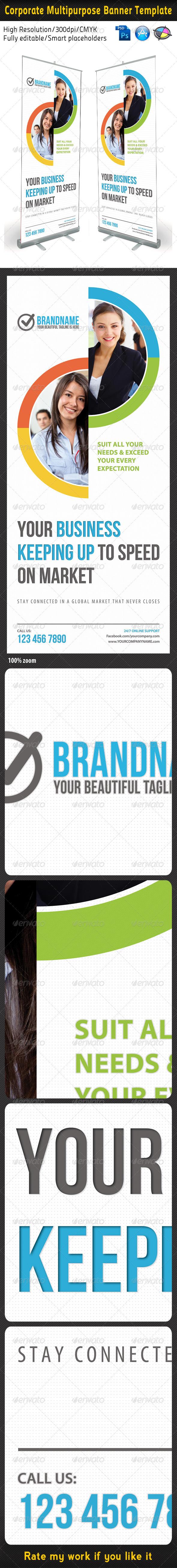 GraphicRiver Corporate Multipurpose Banner Template 5219463