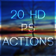 20 HD PS Actions - GraphicRiver Item for Sale