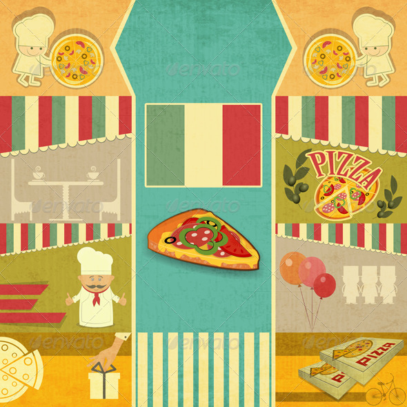 GraphicRiver Template Menu for Pizzeria 5220235