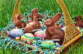 Easter eggs and chocolate rabbits - PhotoDune Item for Sale