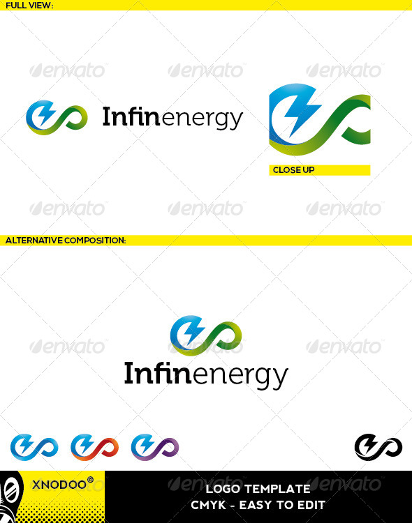 GraphicRiver Infinenergy Logo 5209666