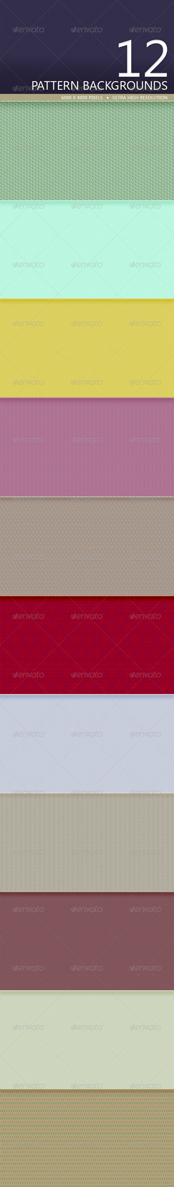 GraphicRiver Pattern Backgrounds Volume 2 5220948