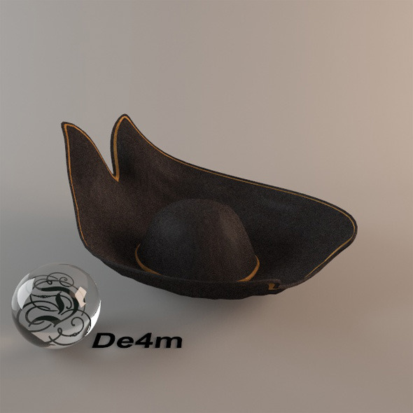 3DOcean Pirate Hat 5220969