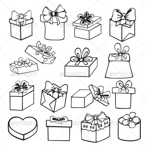 Подарок рисунок графика 29