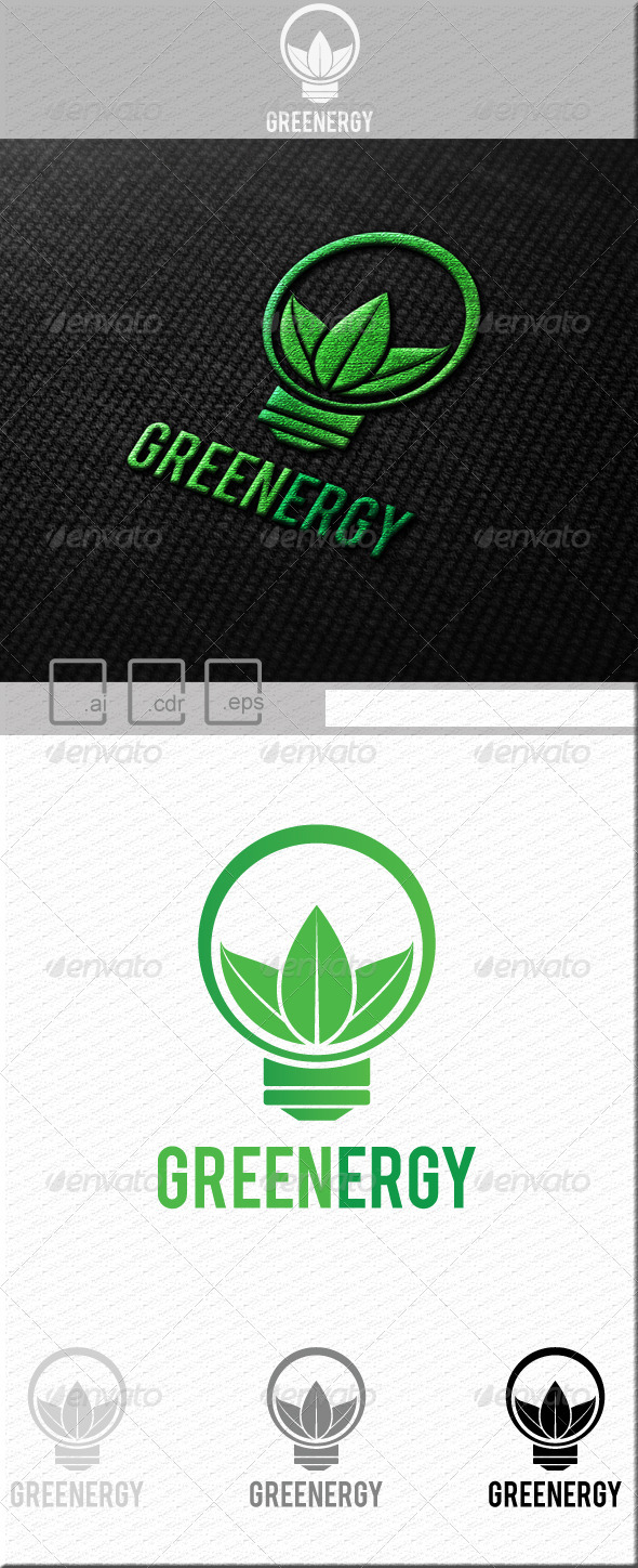 GraphicRiver Greenergy Logo 5221976