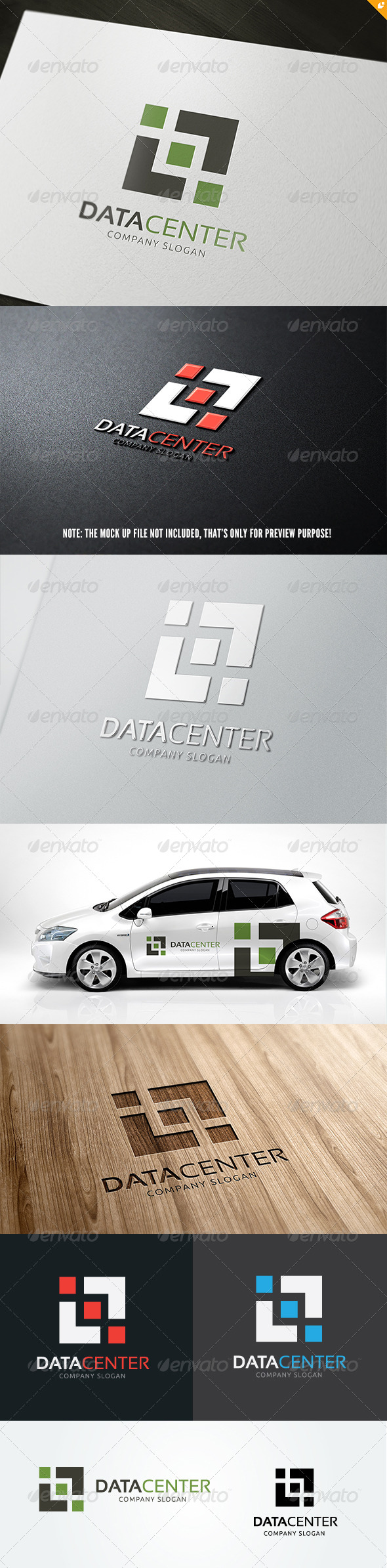 GraphicRiver Data Center 5223417