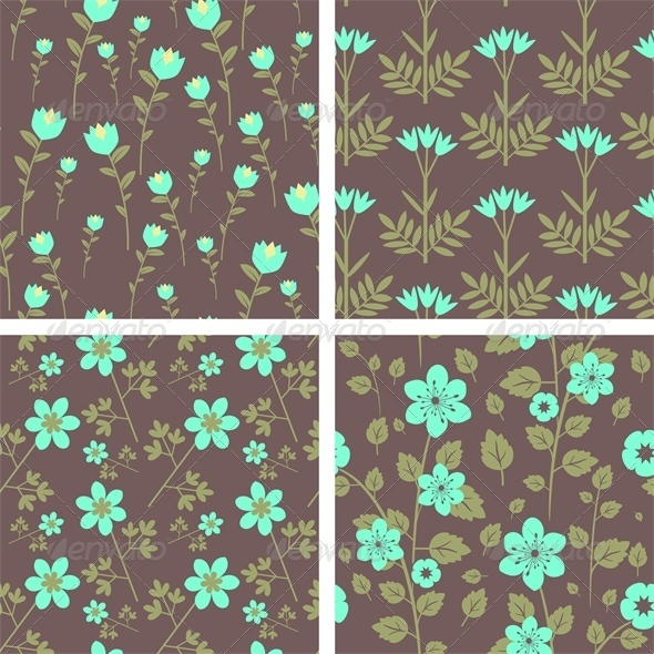 GraphicRiver Patterns Set 5223423