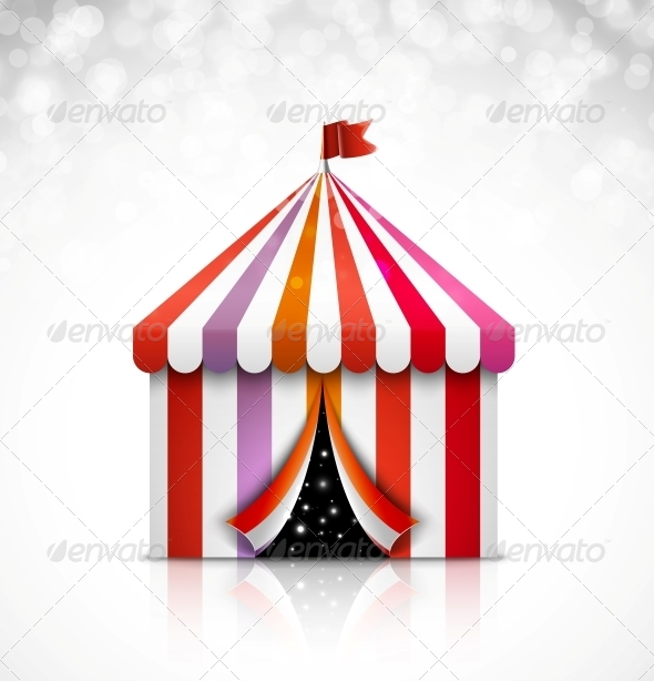 GraphicRiver Circus Tent 5223435