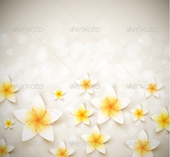 GraphicRiver Background with Flowers 5223556