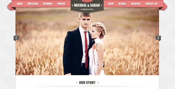 Kalyan One page HTML5 Wedding Template