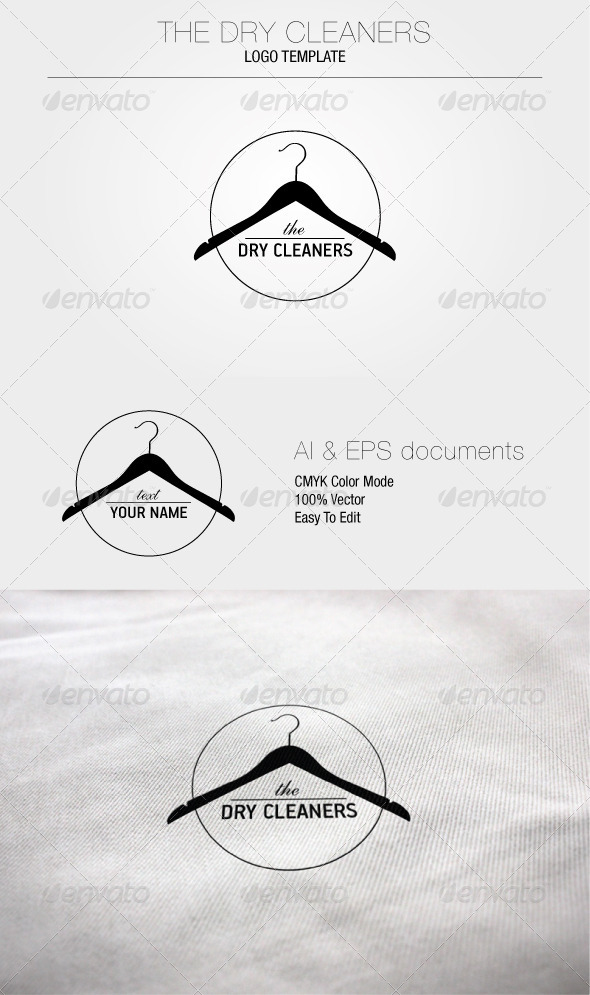 GraphicRiver The Dry Cleaners Logo Template 5056126