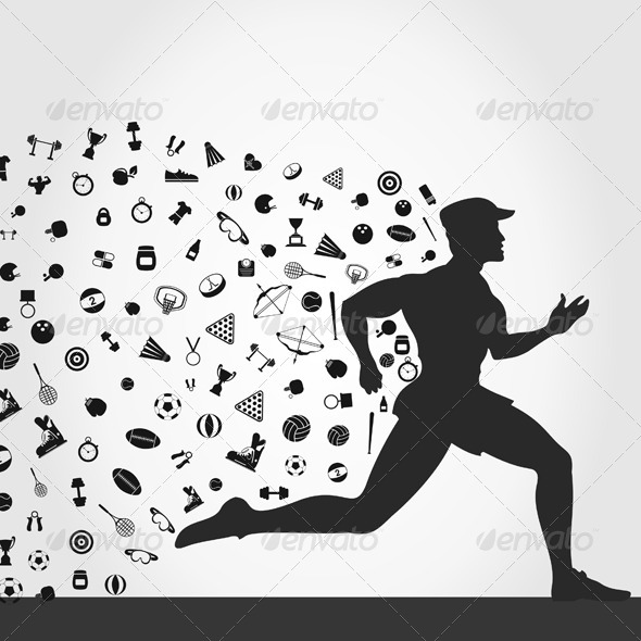 GraphicRiver Runner Sports 5224326