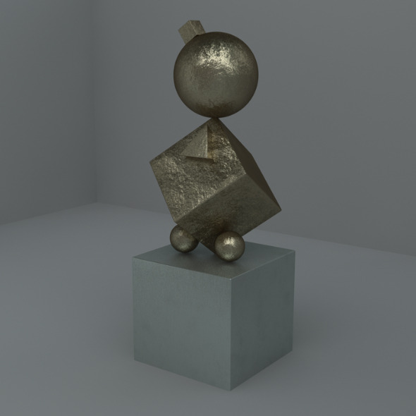 3DOcean Cinema 4D Bronze Metal Materials 5224706