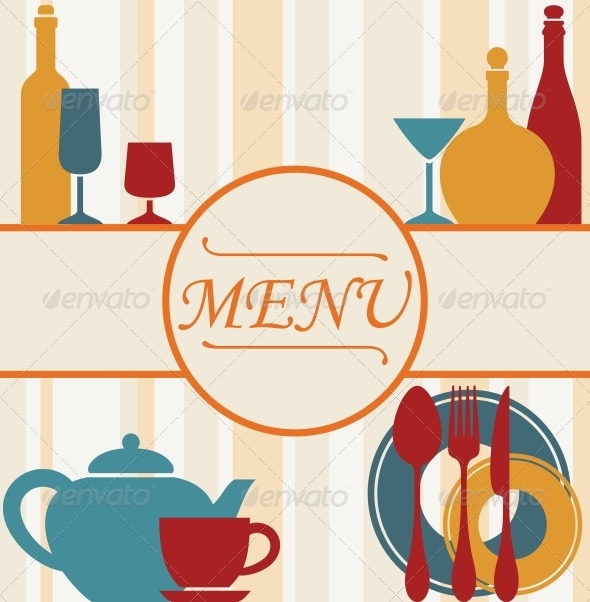 GraphicRiver Design of Restaurant Menu Background 5225370