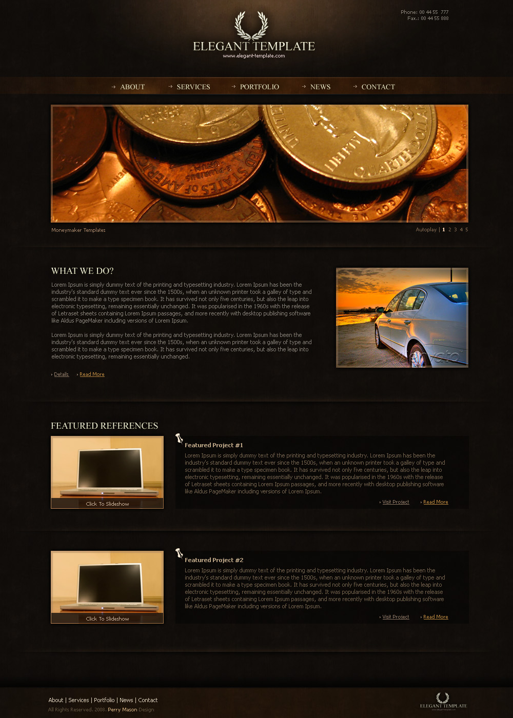 Elegant Unique Template - *********************************************************