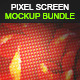 Pixel Screen Mock-up Bundle - GraphicRiver Item for Sale
