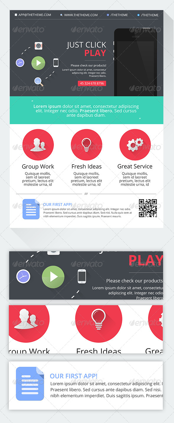 GraphicRiver PLAY Corporate Commerce Flyer 5226280