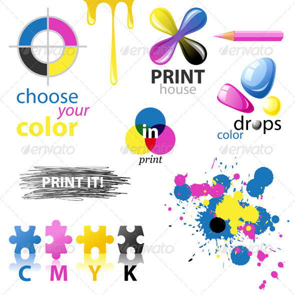 GraphicRiver CMYK Design Elements 5227998
