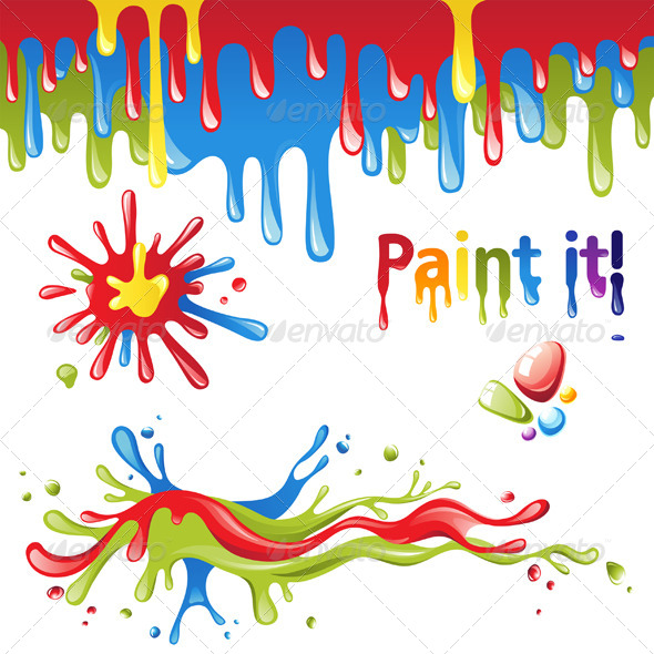 GraphicRiver Colorful Splashes 5228000