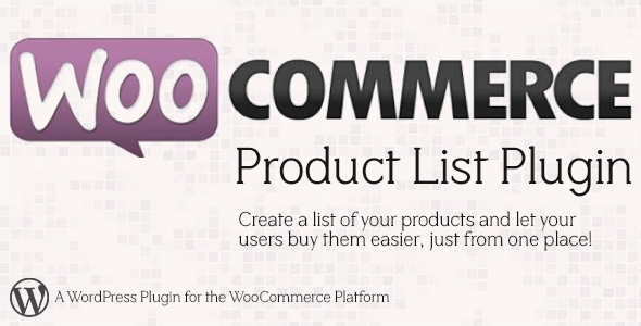 CodeCanyon WooCommerce Product Listing 5222089