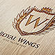 Royal Wings Logo Template - GraphicRiver Item for Sale