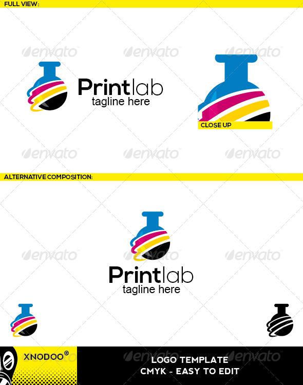 GraphicRiver Printlab Logo 5210271