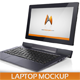 Laptop Computer Mockup - GraphicRiver Item for Sale