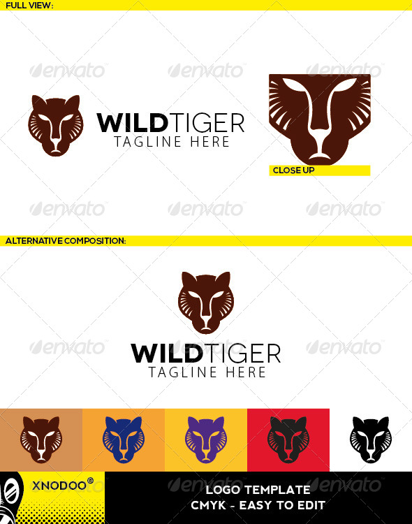 GraphicRiver Wildtiger Logo 5210802