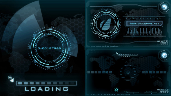 After Effects Project Files Hi Tech Loading Screen
