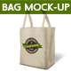 Shopping Bag. Eco-Friendly Canvas Carrier Mock-up - GraphicRiver Item for Sale