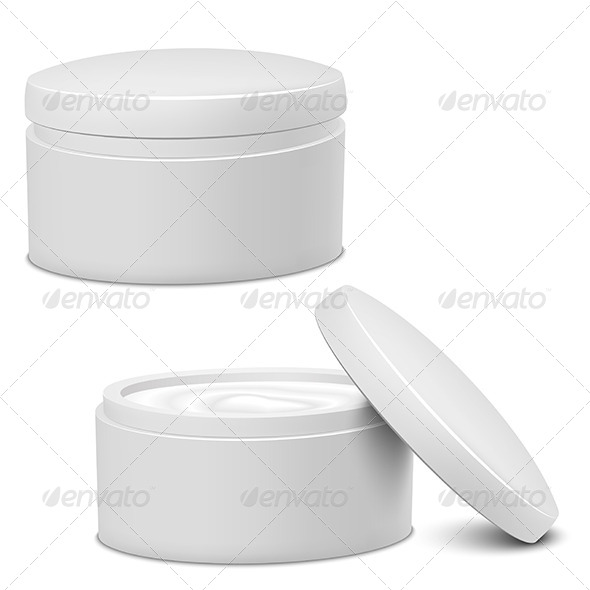 GraphicRiver Cream Jars 5234298