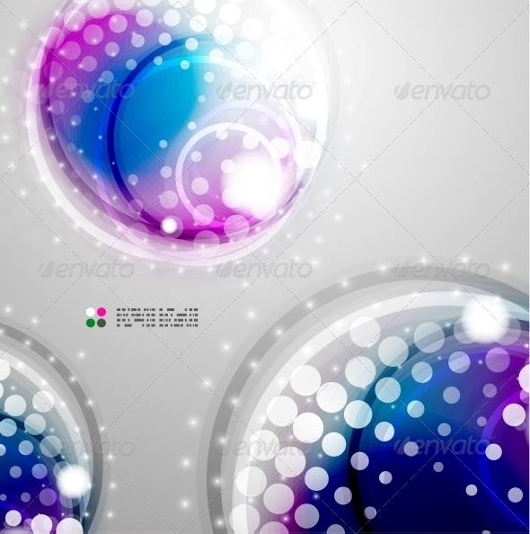 GraphicRiver Futuristic Colorful Circles 5235163