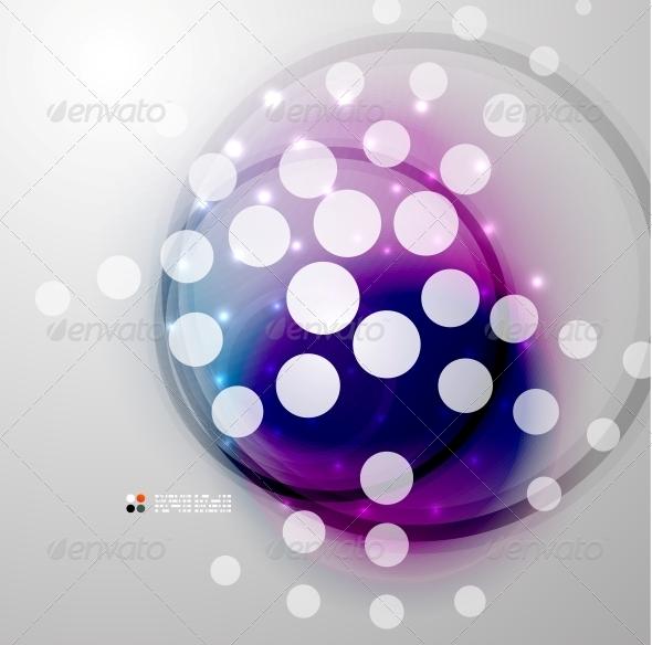 GraphicRiver Futuristic Colorful Circles 5235222