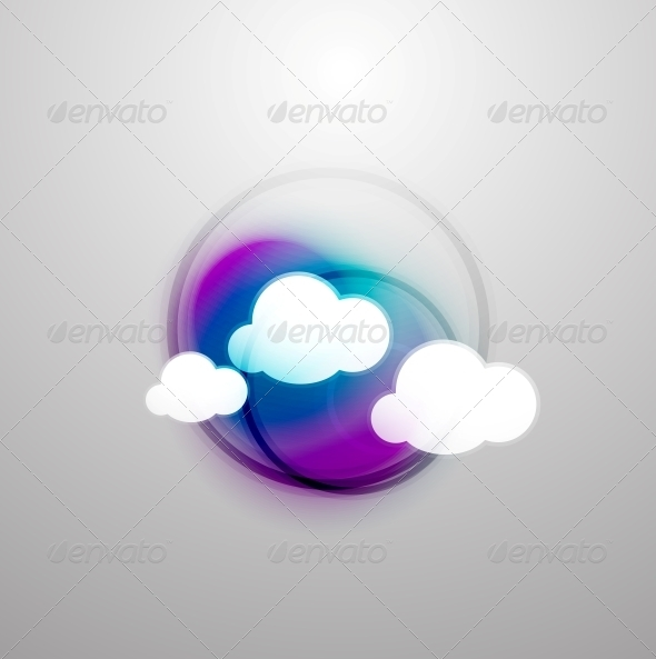 GraphicRiver Abstract Blurred Colorful Clouds 5235262