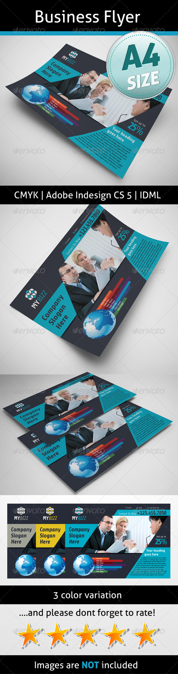 GraphicRiver Business Flyer 5237162