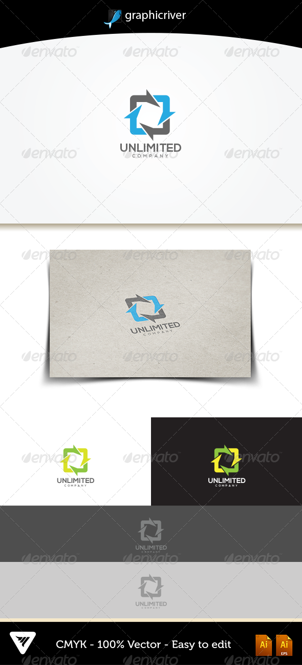 GraphicRiver Unlimited Logo 5237164